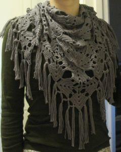 152Сшить своими руками платок с мехом
