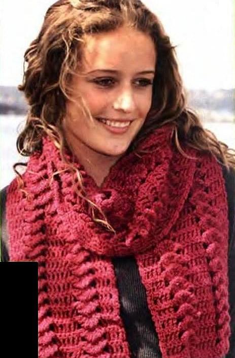 Scoreboardware Вязанные теплые шарфы