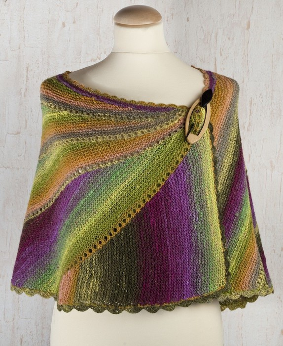 Вязание спицами палантинов и шалей